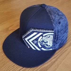 Metal Mulisha blinged hat